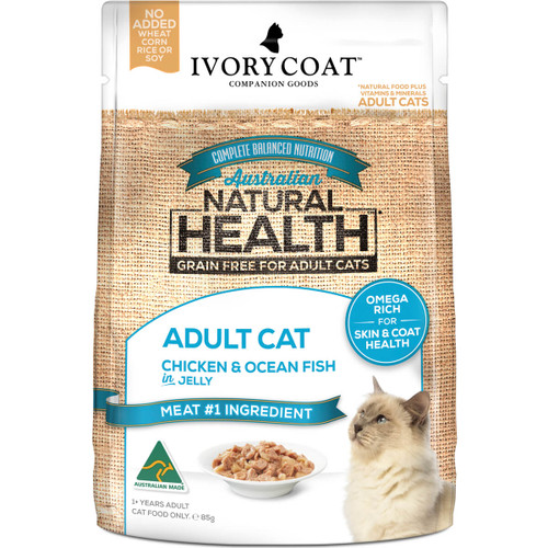 Ivory Coat Grain Free Chicken & Ocean Fish Wet Cat Food