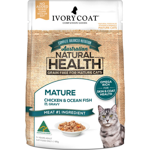 Ivory Coat Grain Free Chicken & Ocean Fish Wet Mature Cat Food