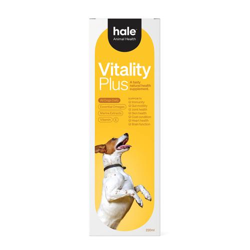 Hale Animal Health Vitality Plus Dog