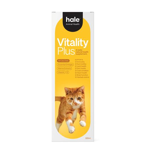 Hale Animal Health Vitality Plus Cat