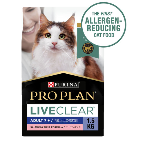 Pro Plan LIVECLEAR Salmon & Tuna Dry 7+ Cat Food