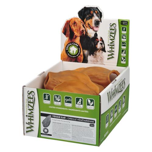 Whimzees Veggie Ear Dental Dog Treats
