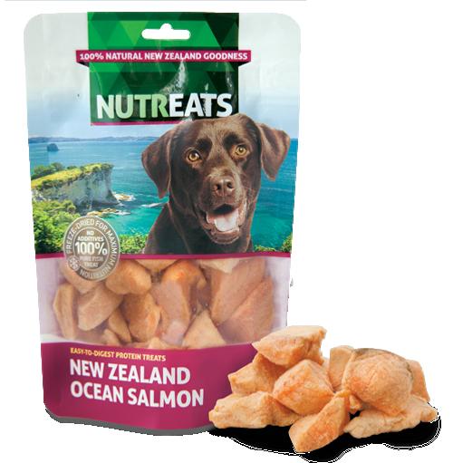 Nutreats Freeze Dried Ocean Salmon Dog Treats