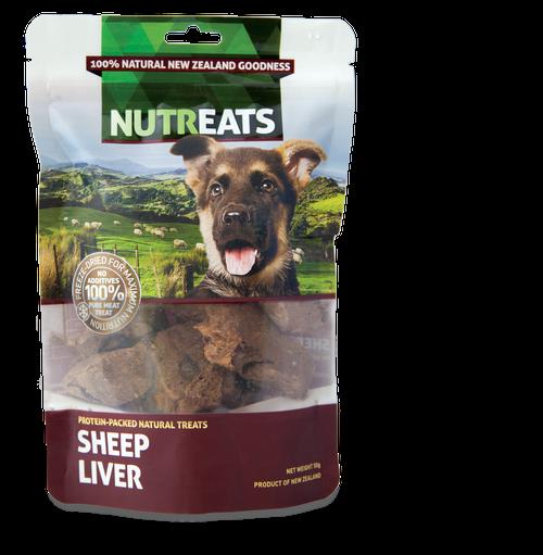Nutreats Freeze Dried Sheep Liver Dog Treats