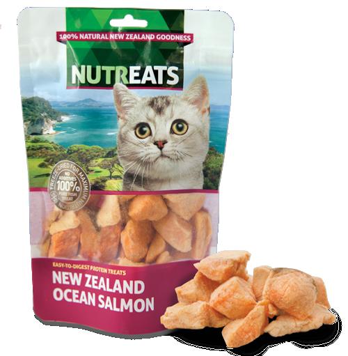 Nutreats Freeze Dried Ocean Salmon Cat Treats