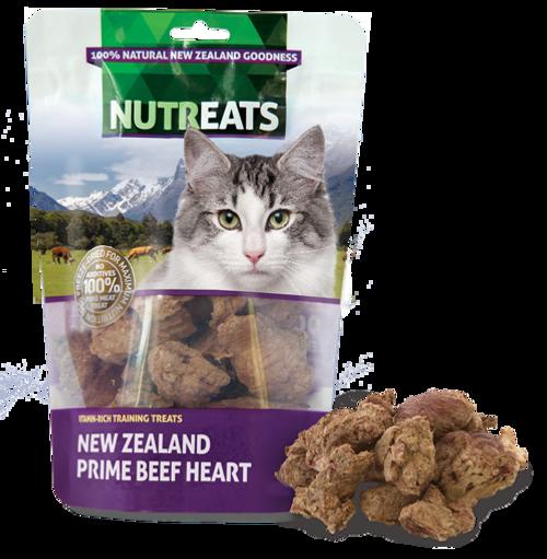 Nutreats Freeze Dried Beef Hearts Cat Treats