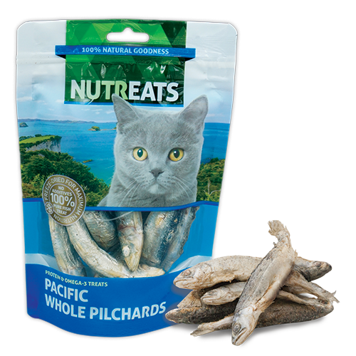 Nutreats Freeze Dried Whole Pacific Pilchards Cat Treats