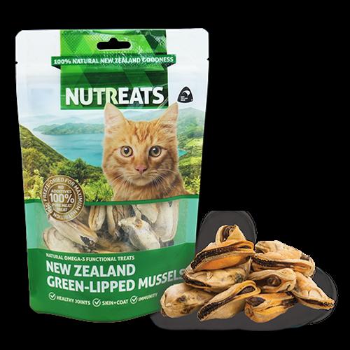 Nutreats Green Lipped Mussels Cat Treats