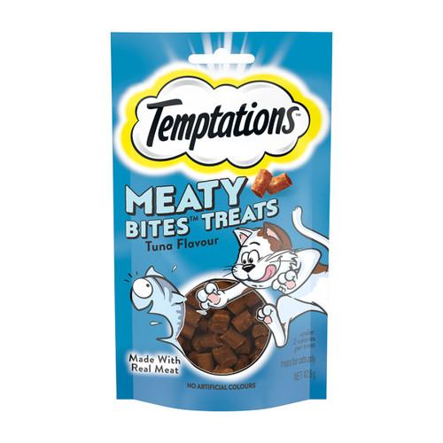 Temptations Meaty Bites Cat Treats Tuna