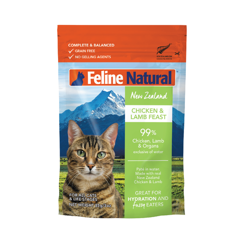 Feline Natural Chicken and Lamb Feast Wet Cat Food