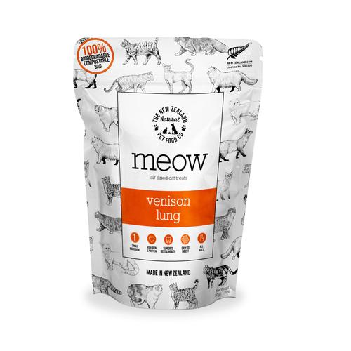 The NZ Natural Pet Food Co Meow Venison Lung Cat Treats