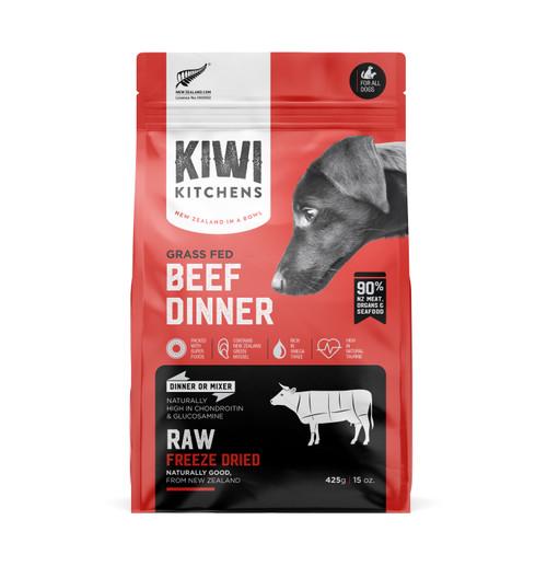 Kiwi Kitchens Raw Freeze Dried Beef Dinner