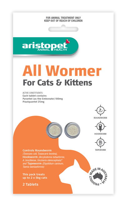 Aristopet All Wormer for Cats & Kittens