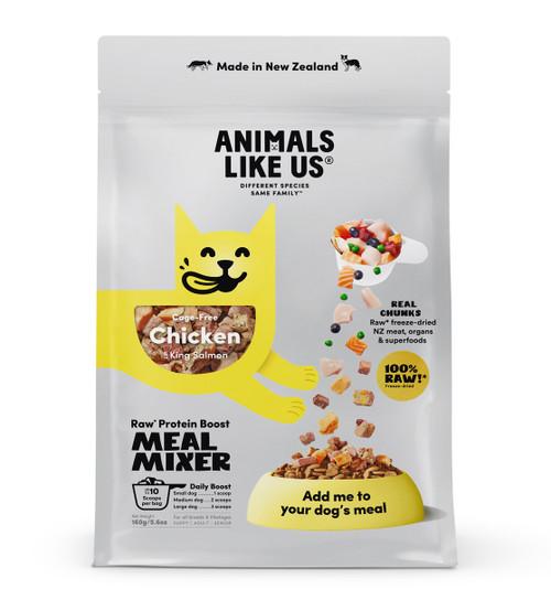 Animals Like Us Meal Mixer Chicken & King Salmon Dog Food