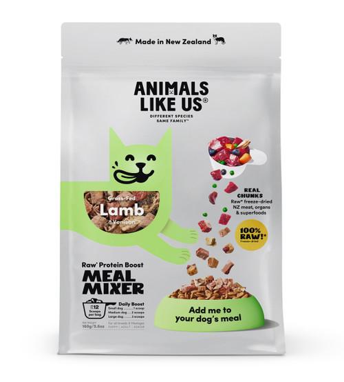 Animals Like Us Meal Mixer Lamb & Venison Dog Food