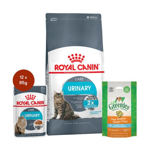 Royal Canin Urinary Care Food & Treats Bundle