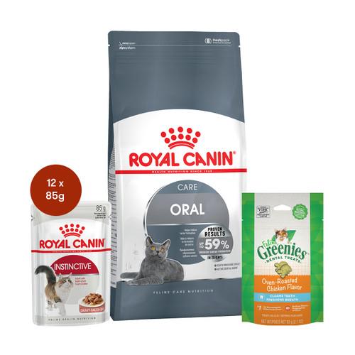 Royal Canin Oral Care Food & Treats Bundle