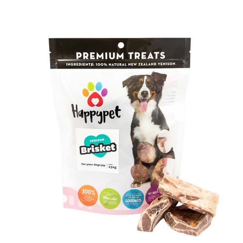 HappyPet Venison Brisket Dog Treats