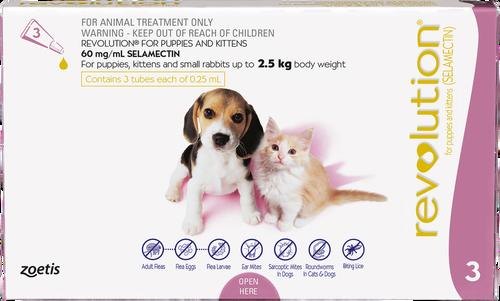 Revolution Flea Treatment for Puppies & Kittens