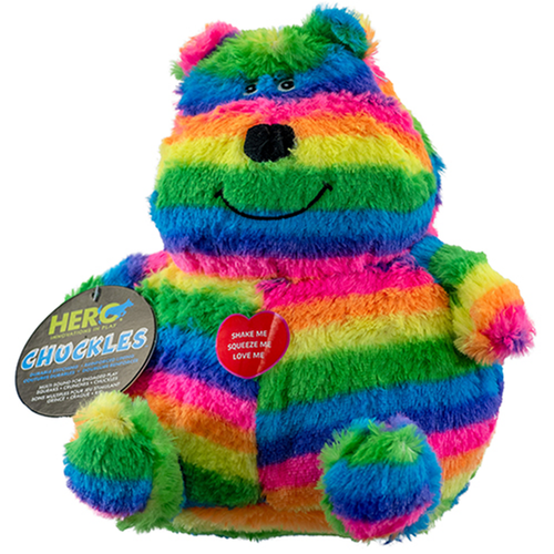 Hero Chuckles Bear Dog Toy
