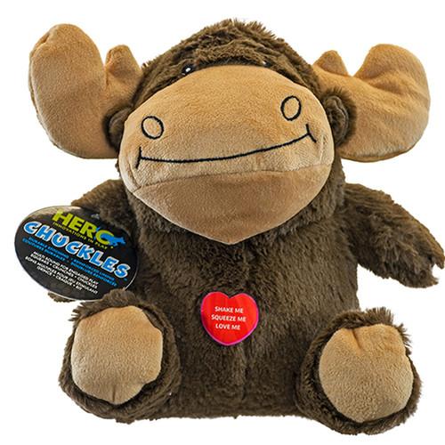 Hero Chuckles Moose Dog Toy