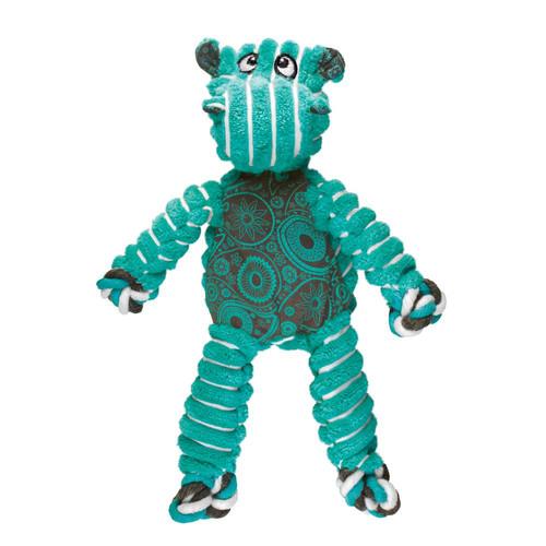 KONG Floppy Knots Hippo Dog Toy