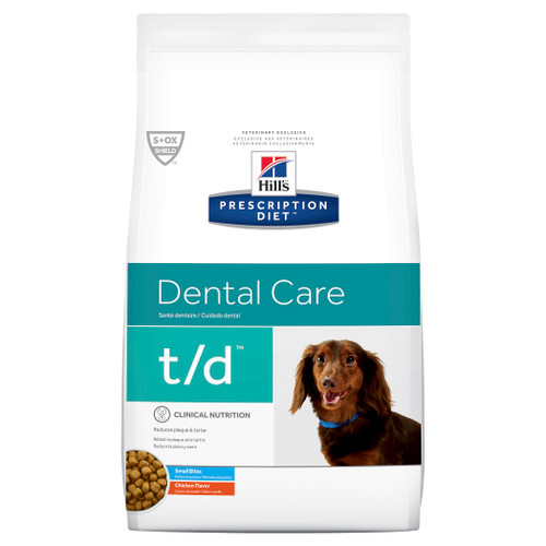 Hill's Prescription Diet t/d Small Bites Dental Care Dry Dog Food