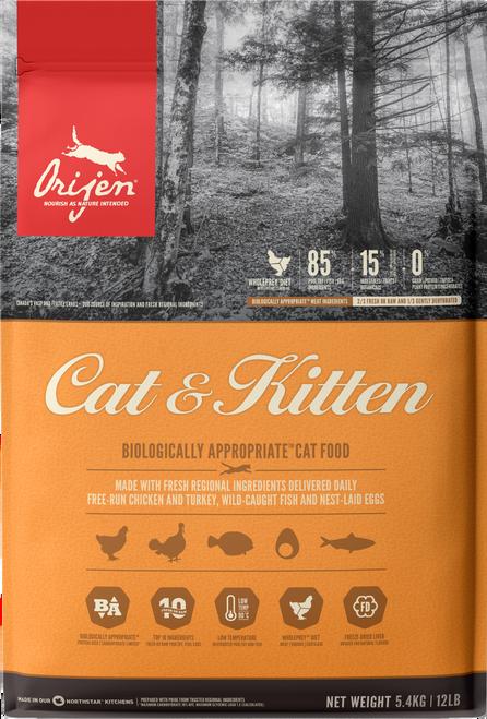 Orijen Cat & Kitten Dry Food
