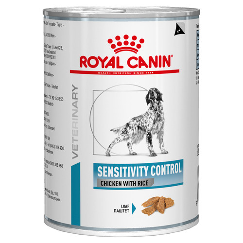 Royal Canin Vet Sensitivity Control Chicken & Rice Wet Dog Food