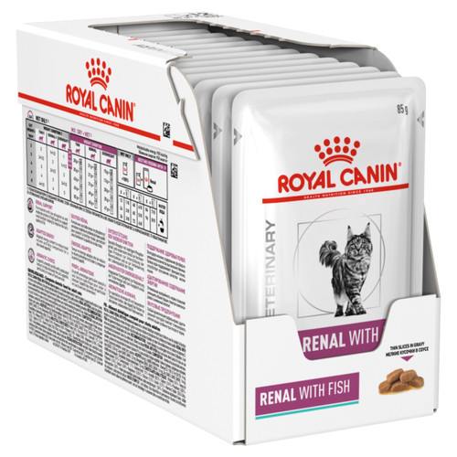 Royal Canin Vet Renal Fish Wet Cat Food