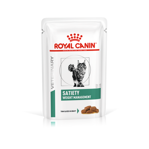 Royal Canin Vet Satiety Weight Management Wet Cat Food