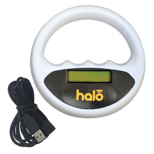 Halo Microchip reader - White