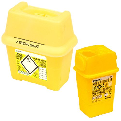 Sharps Safe Bins