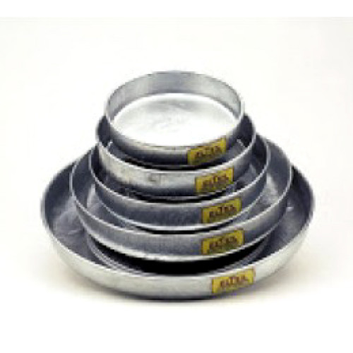 """Galvanised Feed Pan - 5.5""""/14cm"""