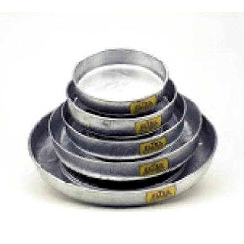 """Galvanised Feed Pan - 8""""/20cm"""