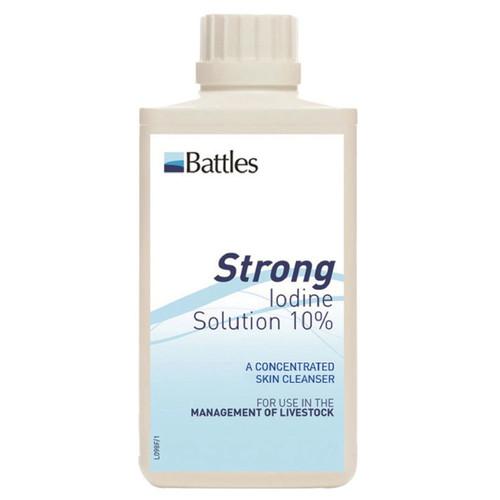 Battles Iodine 10% 500ml