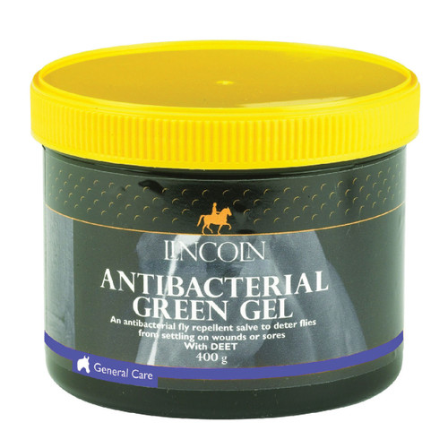 Lincoln Fly Repellent Antibacterial Green Gel 400g