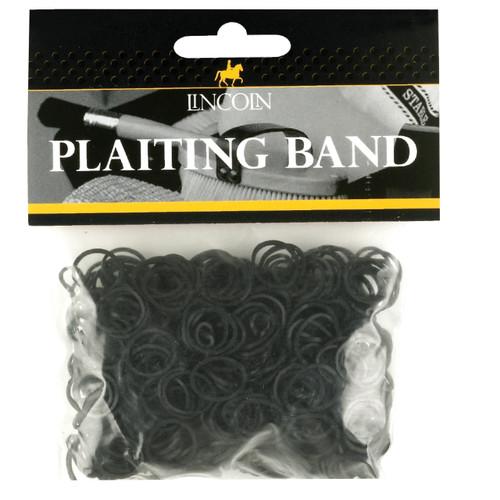 Lincoln Plaiting Bands Black