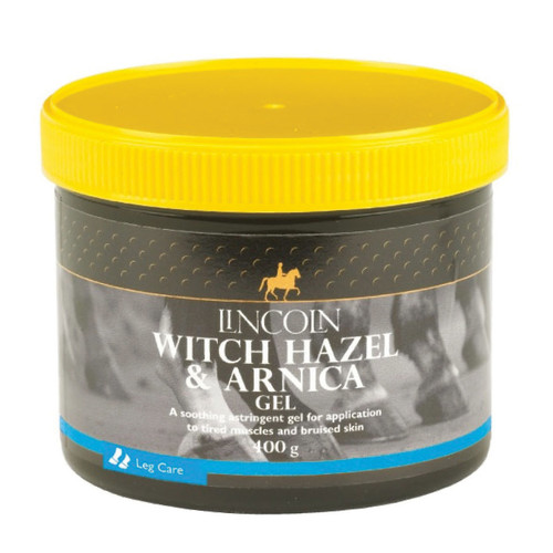 Lincoln Witch Hazel & Arnica Gel 400g