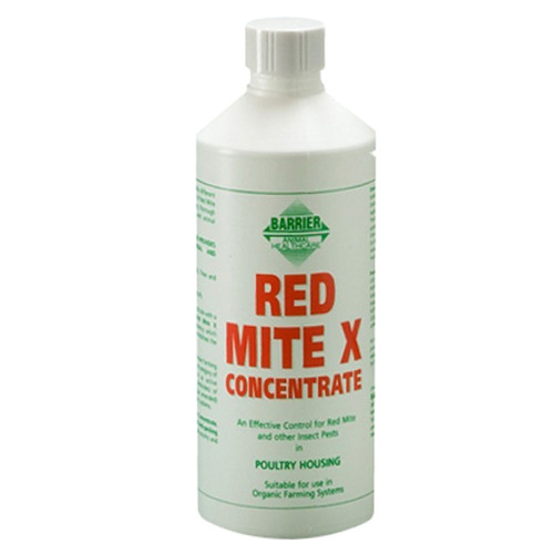 Barrier Red Mite X Liquid Concentrate for Poultry Housing 500ml