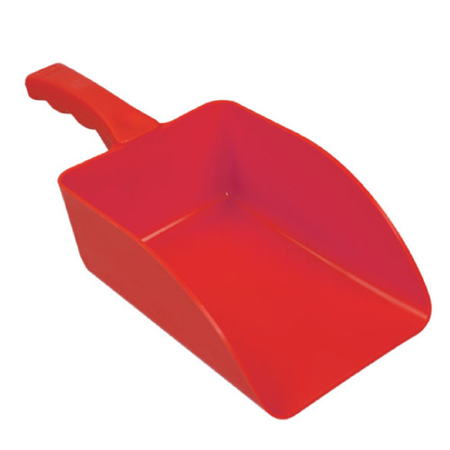 Hillbrush Feed Scoop Large Red