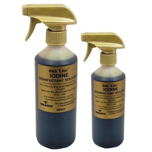 Gold Label Iodine spray 2.5%