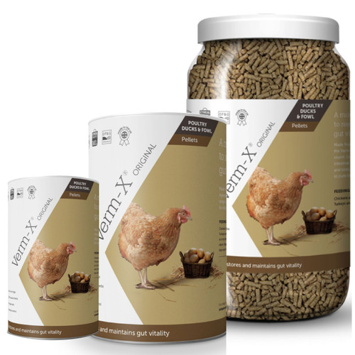 Verm-X Herbal Pellets for Poultry