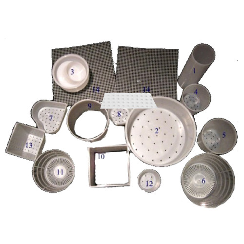Cheese Mould Kit - Great Value Set of Moulds & Mats