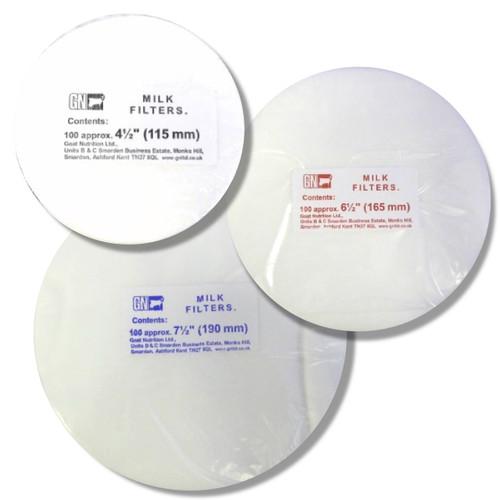 Milk Filters Pack of 100