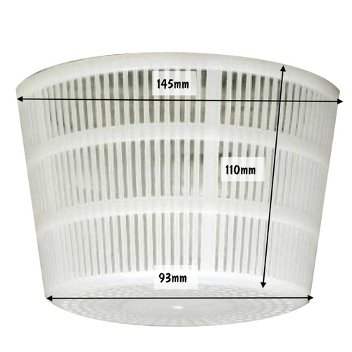 Cheese Mould 20 Large Ricotta Basket 145 x 110 x 93mm