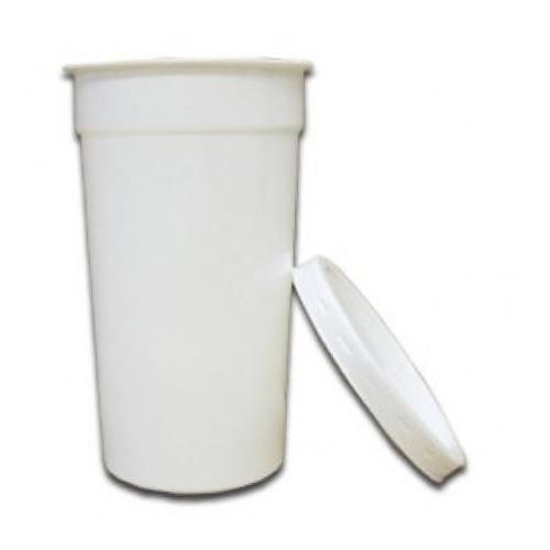 Yoghurt Pots Tall 284g With Lids