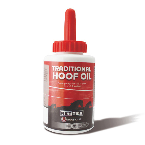 Net-Tex Traditional Hoof Oil with Brush 400ml