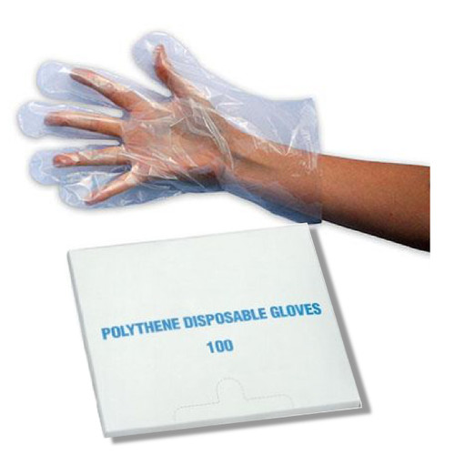 Cox Agri Disposable Polythene Gloves pack of 100