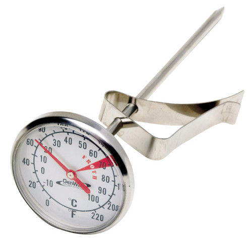 Dairy Thermometer Easy-to-read Dial 0-100C